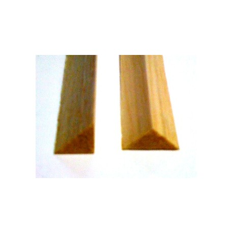 Mantua Model Listello triangolare balsa 10x10mm (art. 86201)