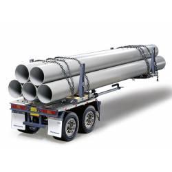 Tamiya Semirimorchio per trasporto tubi scala 1/14 (art. 56310)