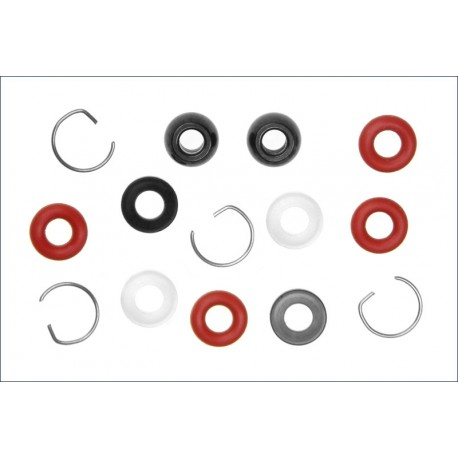 Kyosho Set O-Ring per ammortizzatori (art. IFW-140-05)