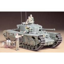 Tamiya Carro armato British Churchill MK.VII Infantry Tank Mk.Iv scala 1/35 kit di montaggio (art. TA35210)