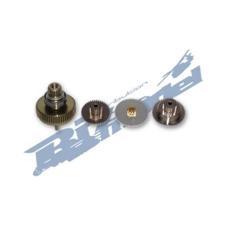 Savox Set ingranaggi di ricambio servocomando SC-1257 (SAX100GE)