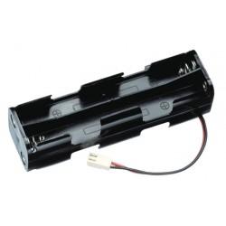Futaba Contenitore batterie Trasmittente 8 stilo Spina F (F1340)