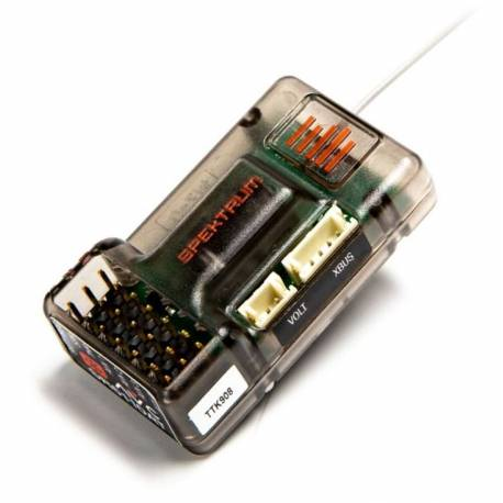 Spektrum Ricevente SR6110AT 6 canali con AVC e Telemetria Surface Receiver (art. SPMSR6110AT)