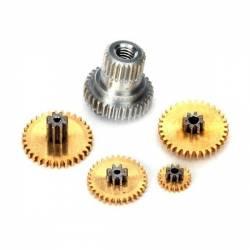 Traxxas Set ingranaggi in metallo di ricambio per servocomando 2065 art. TXX2065 (art. TXX2064X)