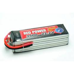 Pichler Batteria Li-po 22,2V 3500mAh RED POWER SLP 25C (art. C9420)