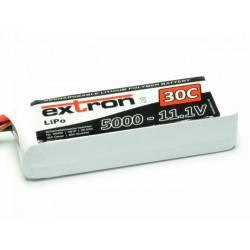 Extron Batteria Li-po X2 11,1V 5000mAh 30-60C connettore XT90 (art. X6429)
