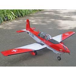 VQ Model Aeromodello Pilatus PC 7 Swiss ARF 46 1540mm (art. C6614)