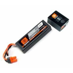 Spektrum Set Smart Powerstage Batteria Lipo 2S 5000mAh e Mini Smart S150 AC/DC (art. SPMXPS2I)