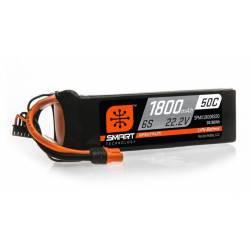 Spektrum Batteria Li-Po 6S 22,2V 1800mAh 50C Smart connettore IC3 (art. SPMX18006S50)