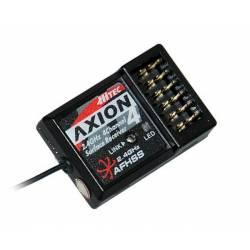 Hitec Ricevente Micro Axion 4 a 4 canali CAR 2,4GHz AFHSS (art. 27824)