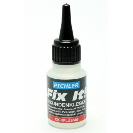 Pichler Colla istantanea cianoacrilica Fix It densità Densa confezione 20 grammi (art. C4932)