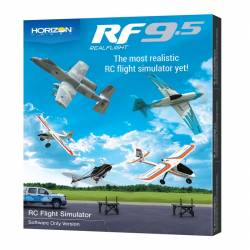 Horizon Hobby Simulatore di volo RealFlight 9.5 versione solo Software (art. RFL1201)