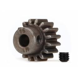 Traxxas Pignone in acciaio 16T Modulo 1 Foro 5mm (art. TXX6489X)