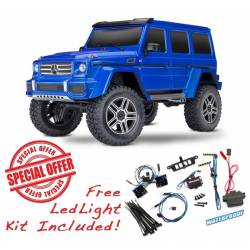 Traxxas Automodello Mercedes-Benz G500 TRX-4 Trail Crawler Kit luci LED Incluso (art. TXX82096-4)