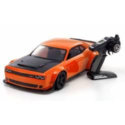 Kyosho Automodello Inferno GT2 Dodge Challenger SRT Readyset 1/8 GT RTR motore KE25SP (art. 33018B)