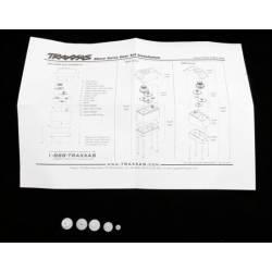 Traxxas Set ingranaggi in Nylon di ricambio per servocomando 2065 art. TXX2065 (art. TXX2064)