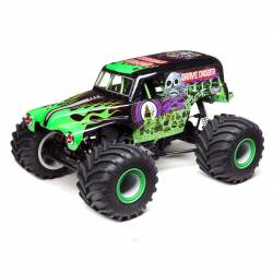 Team Losi Grave Digger Monster Truck LMT Solid Axle 4WD 1/10 RTR Verde (art. LOS04021T1)