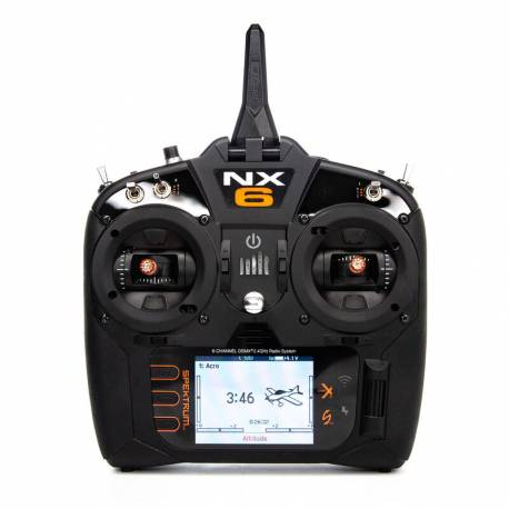 Spektrum Radiocomando NX6 2,4GHz DSMX 6 canali senza ricevente (art. SPMR6775EU)