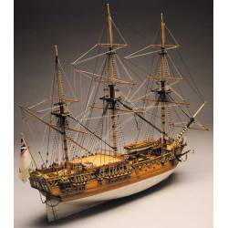 Mantua Model Royal Caroline del 1749 lunghezza 830mm scala 1/47 kit di montaggio (art. 750)