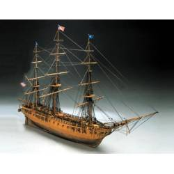 Mantua Model Fregata Americana USS Constitution del 1797 lunghezza 960mm scala 1/98 kit di montaggio (art. 779)