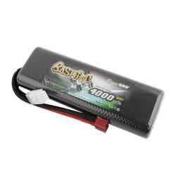 Gens ACE Batteria Li-po 2S 7,4V 4000mAh 50C connettore Deans Hard Case 139x47x23mm (art. GE3-4000-2D)