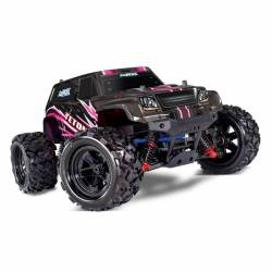 Traxxas Monster Truck Teton 4WD scala 1/18 versione RTR colore Pink (art. TXX76054-1-PINK)