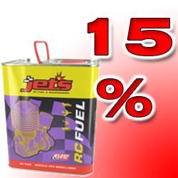 Jet's Latta miscela 2,5 litri Pro 67-18-15 per elicotteri 15% nitro (art. P250/2)