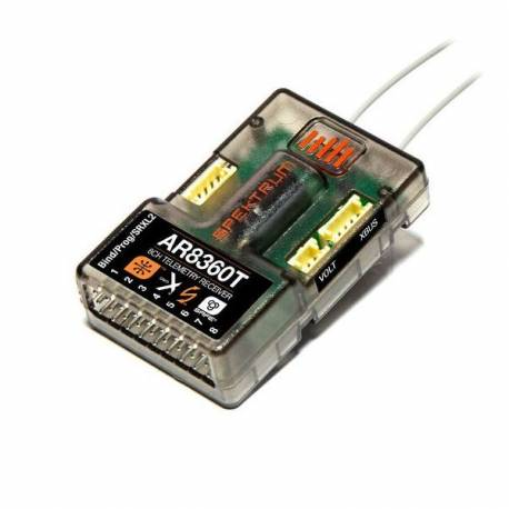 Spektrum Ricevente AR8360T 8 canali con SAFE e AS3X Telemetry Receiver (art. SPMAR8360T)