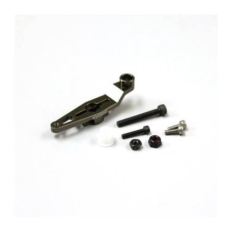 Kyosho Squadretta servo GAS in alluminio per Inferno MP9 / MP10 adatto per SANWA / KO (art. IFW455)