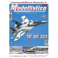 Modellistica Rivista di modellismo n°01/02 Gennaio / Febbraio 2021