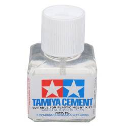 Tamiya Colla New Cement liquido 40ml. per modellismo statico (art. TA87003)
