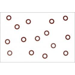 Kyosho O-Ring P6 mm arancione 10 pezzi (art. ORG06)