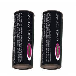 Jamara Batteria Lipo 3,7V 1500mAh 2 pezzi per Whelon (art. 505567)