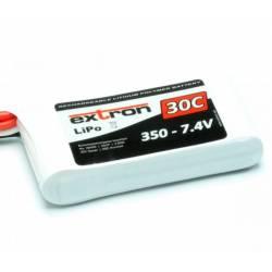 Extron Batteria Li-po X2 7,4V 350mAh 30-60C connettore JST BEC (art. X6400)