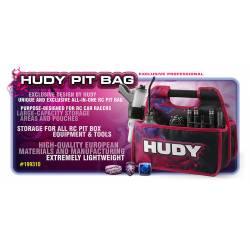 Hudy Borsa Pit Bag Compact porta accessori da competizione (art. 199310)