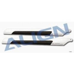 Align Pale in fibra di Carbonio 205mm per T-rex 250 (art HD200B)