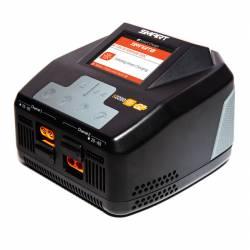 Spektrum Carica batteria doppio Smart S2200 G2 AC 220V per Li-Po 1-6S 2x200W (art. SPMXC2010I)