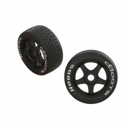 Arrma Coppia pneumatici Anteriori dBoots Hoons montati su cerchi per Felony e Infraction (art. ARA550062)