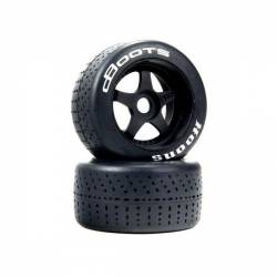 Arrma Coppia pneumatici Posteriori dBoots Hoons montati su cerchi per Felony e Infraction (art. ARA550073)