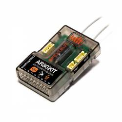Spektrum Ricevente AR8020T 8 Ch Air Integrated Telemetry Receiver (art. SPMAR8020T)