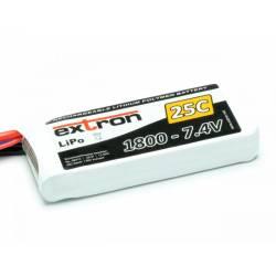 Extron Batteria Li-po X2 7,4V 1800mAh 25-50C connettore XT60 (art. X6410)