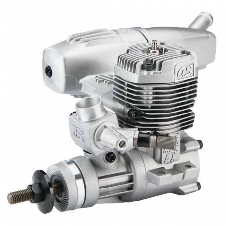 O.S. Engines Motore Max 46AX II con silenziatore 15490 (art. OS1521)
