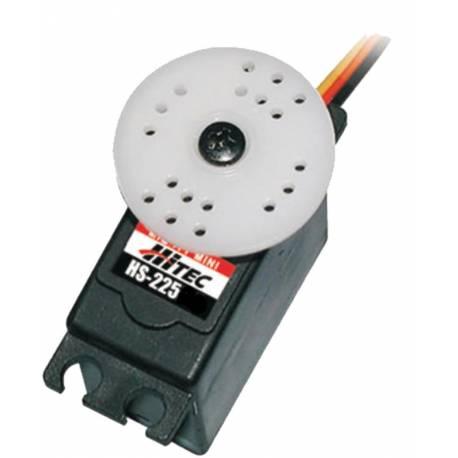 Hitec Servocomando HS-225BB analogico Mini servo (art. 31225S)