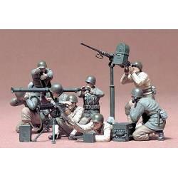 Tamiya Set Mitragliere e Mortaio esercito Stati Uniti scala 1/35 (art. TA35086)