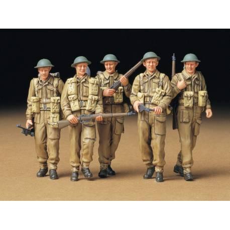 Tamiya Pattuglia di Fanteria esercito Britannico scala 1/35 (art. TA35223)
