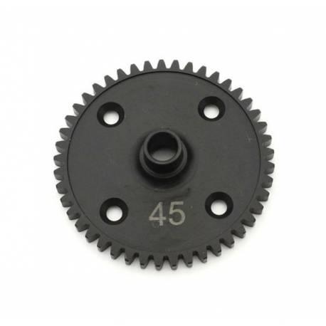 Kyosho Corona centrale principale in acciaio da 45 denti per MP9 e MP10 (art. IF410-45)