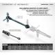 Xray ECS BB Drive Shaft 53mm Set Hudy Spring Steel (art. 305309)