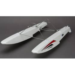 E-flite Coppia galleggianti completi per aeromodello Apprentice STS (art. EFLA550)