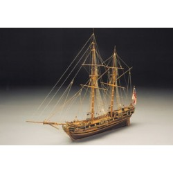 "Mantua Model ""Race Horse"" Ketch armato del 1754 (art. 793)"