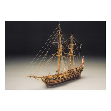 """Mantua Model """"Race Horse"""" Ketch armato del 1754 (art. 793)"""